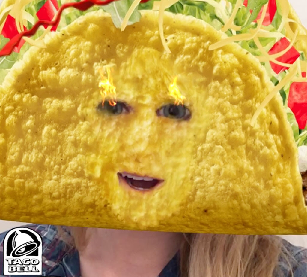 Snpachat for Business Taco Bell's Cinco De Mayo lens