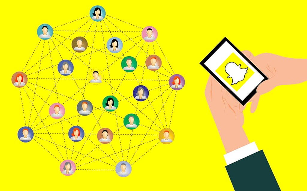 Snapchat mobile app reaching world of people